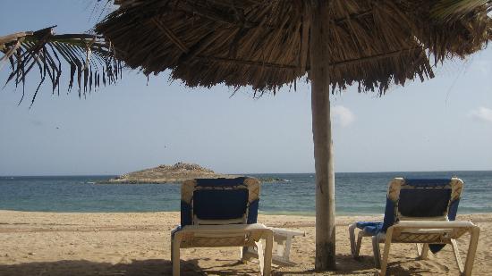 Playa caribe en Margarita